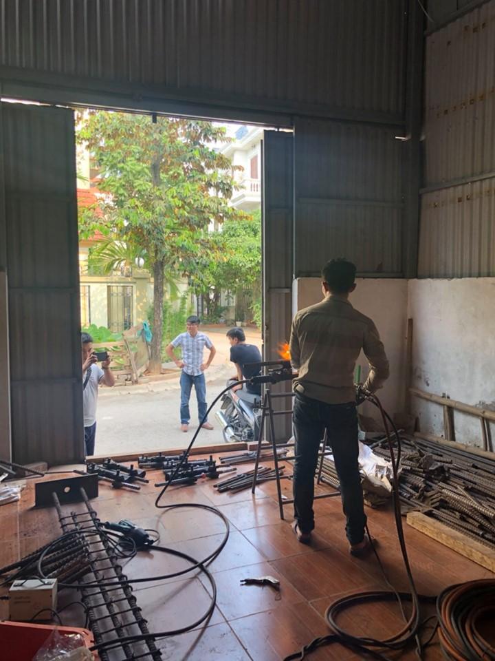 27/05/2019 Thử nghiệm chất lượng mối hàn EcoSpeed tại dự án Golden Square Đà Nẵng
