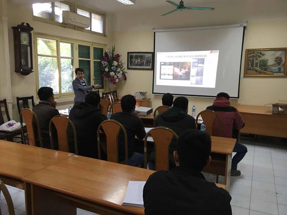 Khoá đào tạo  Kĩ thuật viên công nghệ Hàn EcoSpeed