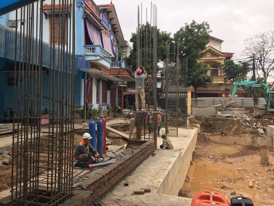 07/03/2020 Thi công hàn EcoSpeed tại dự án nhà thể thao đa năng tỉnh Ninh Bình