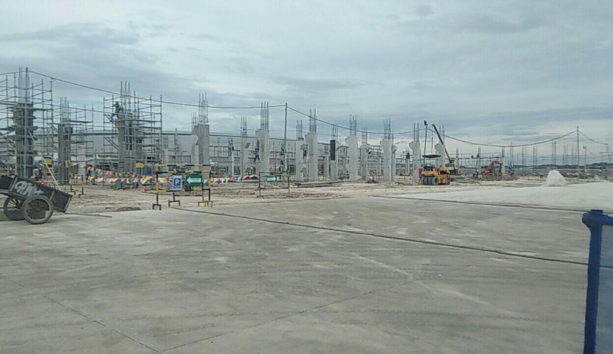 20190103 Toàn cảnh công trường dự án nhà máy Gunze - Bình Dương