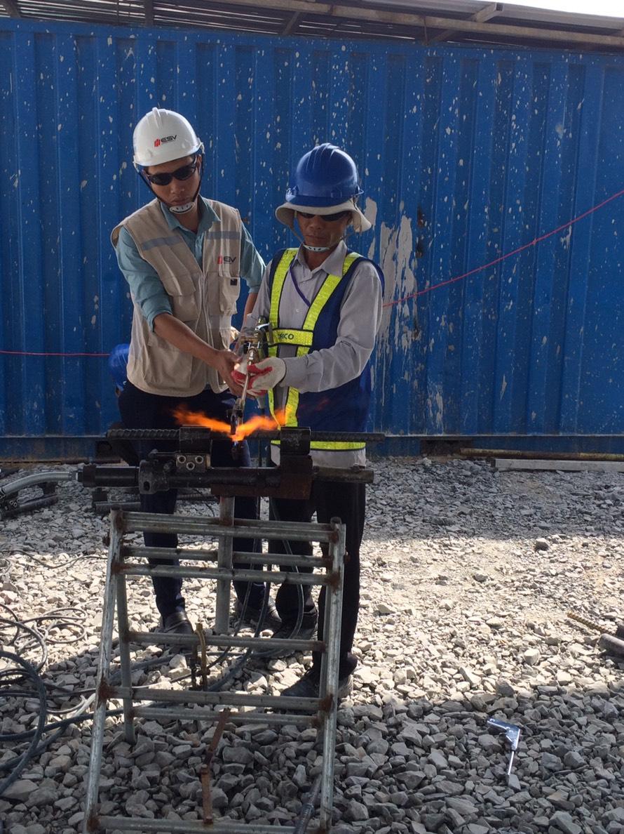 2018111316 Đào tạo công nghệ hàn EcoSpeed cho nhà thầu Maeda, Cofico, Việt Đăng